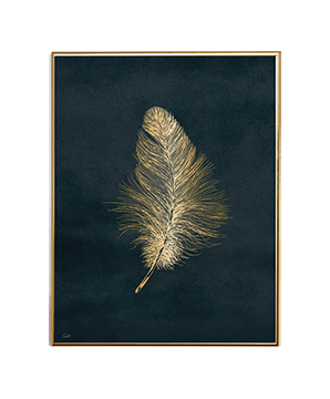 GOLD AMBIENCE FEATHER